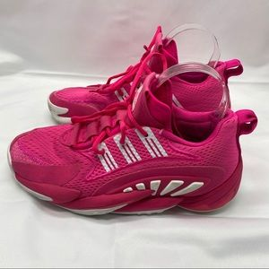 Kay Yow Adidas Crazy BYWx2 Pink Basketball Shoes